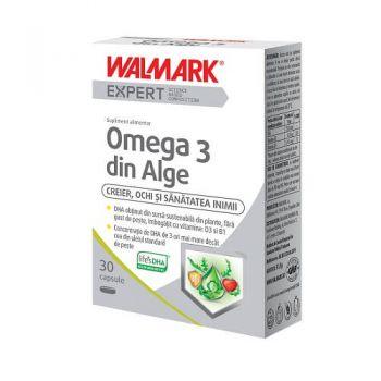 Omega 3 din Alge, 30 capsule, Walmark