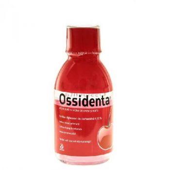 Ossidenta, Apa de gura cu aroma de cirese si menta, 250 ml, Biofarm