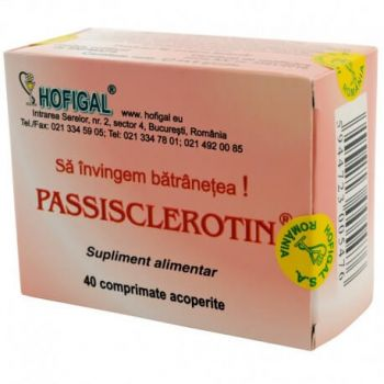 Passisclerotin, 40 comprimate, Hofigal