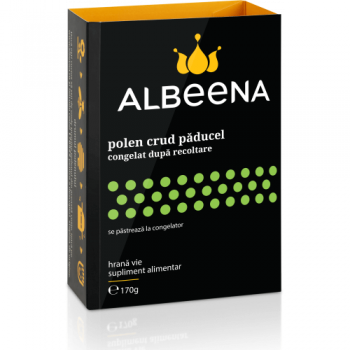 Polen crud de paducel, 170 gr, Albeena