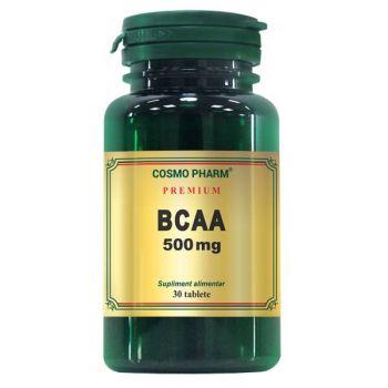 Premium BCAA 500 mg, 30 tablete, Cosmopharm
