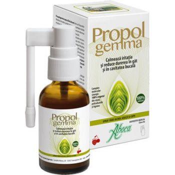 Propolgemma Forte spray de gat (fara alcool) pentru copii si adulti, 30 ml, Aboca