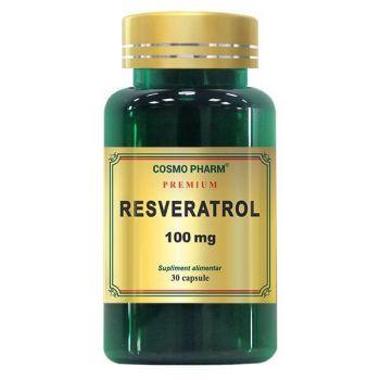 Resveratrol 100 mg Premium, 30 capsule