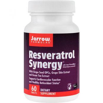 Resveratrol Synergy (200 mg) 60 comprimate, Secom