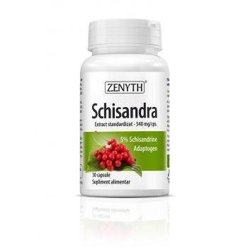 Schisandra 540mg, 30 capsule, Zenyth