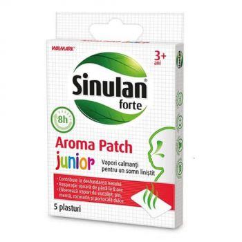 Sinulan Forte Junior 3+, 5 plasturi, Walmark