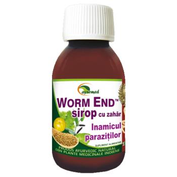 Sirop Worm End, 100 ml, Ayurmed