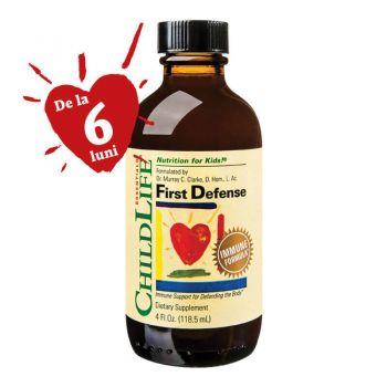 First Defense sirop imunitate,118.5 ml, Childlife Essentials (Secom)