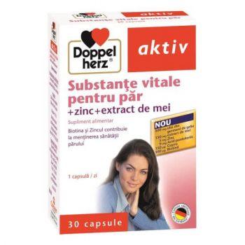 Substante vitale pentru par, 30 capsule