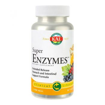 Super Enzymes, 30 tablete, Secom