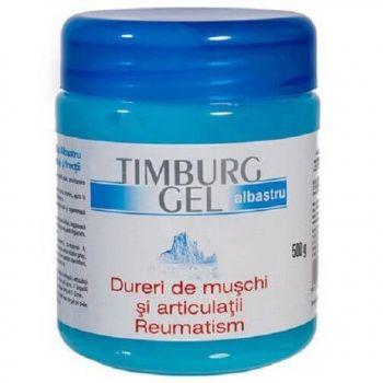 Timburg gel albastru dureri de muschi si articulatii, 500g