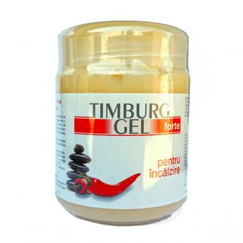 Timburg gel forte pentru incalzire cu ardei rosu si balsam de cal, BingoSpa