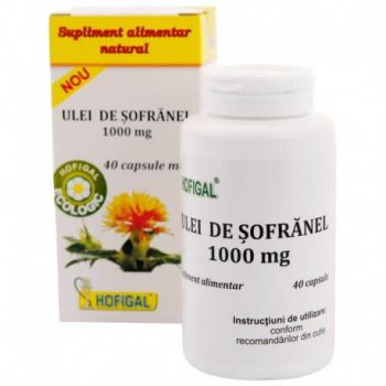 Ulei de Sofranel, 1000 mg, 40 capsule, Hofigal