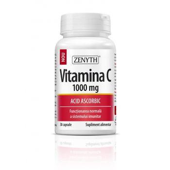 Vitamina C 1000 mg, 30 cps, Zenyth