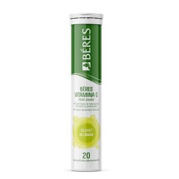 Vitamina C, 20 comprimate efervescente, Beres