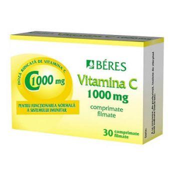 Vitamina C 1000mg, 30 comprimate, Beres