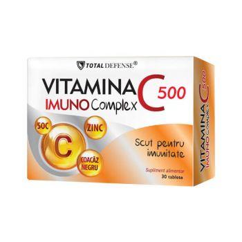 Vitamina C 500 Imuno Complex 30 tablete, Cosmopharm