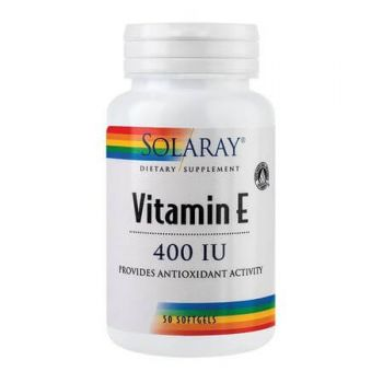 Vitamina E 400UI, 50 capsule, Secom