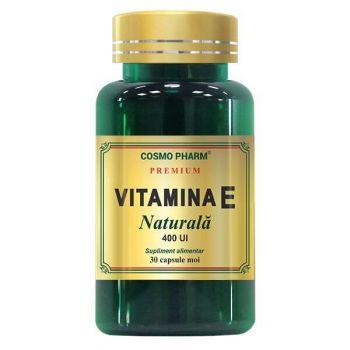 Vitamina E Naturala, 30 capsule, Cosmopharm