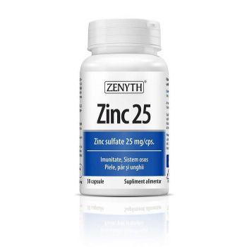 Zinc 25mg, 30 cps, Zenyth