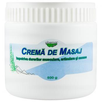 Crema de masaj, 500 gr, Abemar