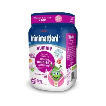 Minimartieni Gummy soc, 60 jeleuri, Walmark