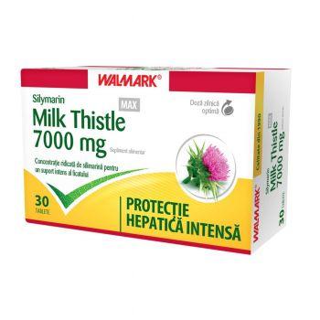Silymarina MAX 7000 mg Milk Thistle, Walmark, 30 comprimate