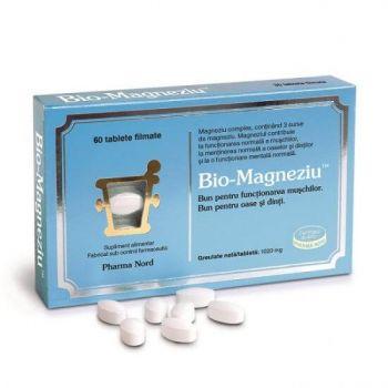 Bio-Magneziu, 60 tablete, Pharma Nord