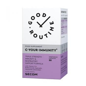 C-Your-Immunity Secom, 30 cps, Good Routine