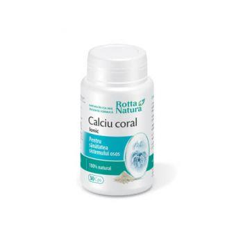 Calciu Coral Ionic, 90 capsule, Rotta Natura