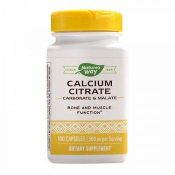 Calcium Citrate Complex Secom, 100 cps Nature's Way