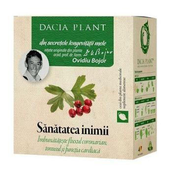 Ceai din plante medicinale Sanatatea inimii, 50 g, Dacia Plant