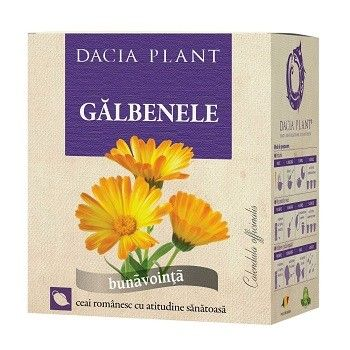 Ceai de Galbenele, 50g, Dacia Plant