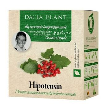 Ceai din plante Hipotensin, 50 g, Dacia Plant