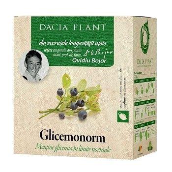 Ceai glicemonorm, 50g, Dacia Plant