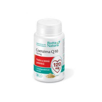 Coenzima Q10, 120mg, 30 capsule, Rotta Natura