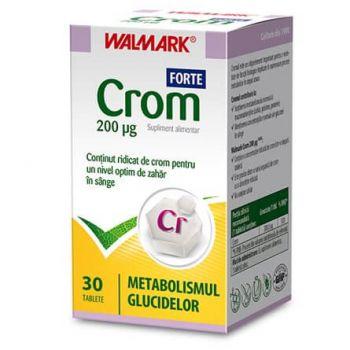 Crom Forte, 30 tablete, Walmark
