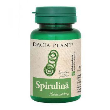 Spirulina, 60 comprimate, Dacia Plant