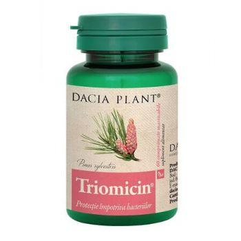 Triomicin, 60 comprimate, Dacia Plant