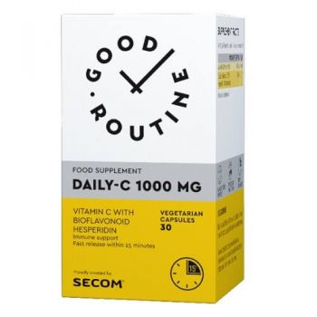 Daily-C 1000 mg Secom, Good Routine, 30 capsule