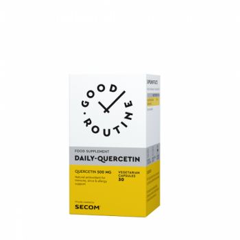 Daily Quercetin 500 mg, 30 capsule, Good Routine Secom