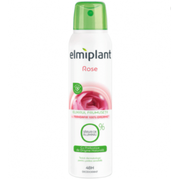 Deodorant antiperspirant spray Elmiplant Rose, 150 ml