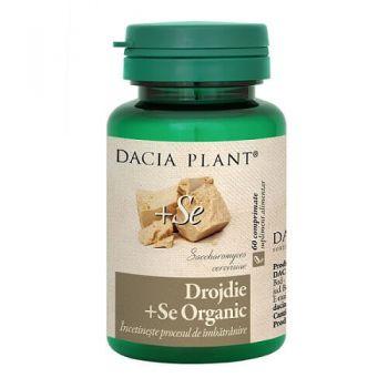 Drojdie cu Seleniu organic, Dacia Plant, 60 comprimate