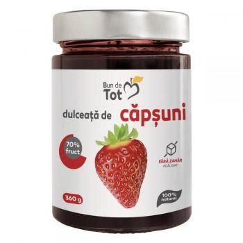 Dulceata de Capsuni fara zahar, 360g, Dacia Plant