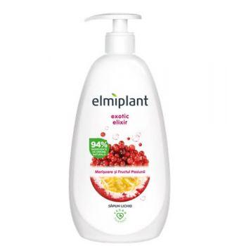 Sapun lichid Elmiplant Exotic elixir cu merisoare si fructul pasiunii, 500 ml