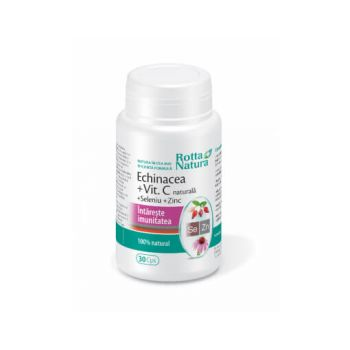 Echinacea + vitamina C + seleniu + zinc, 30 cps