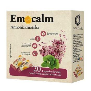 Emocalm drops, 20 dropsuri, Dacia Plant