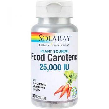 Food Carotene 25000UI Secom, 30 capsule