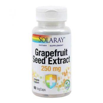 Grapefruit Seed Extract, Secom, 60 capsule - Solaray