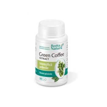 Green Coffee Extract, 60 capsule, Rotta Natura